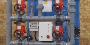 Industrial GAC-filtration system