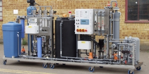 compsoft ro system-with-permeate-tank EDI ultra pure water